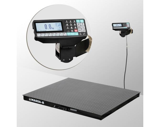 Весы платформенные с печатью этикеток 4D-PM-10/10_RP
